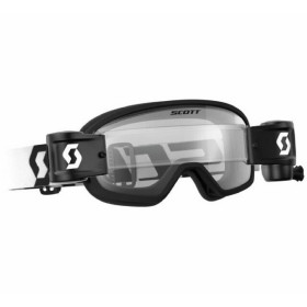 GOGGLE BUZZ MX PRO WFS BLACK/WHITE CLEAR
