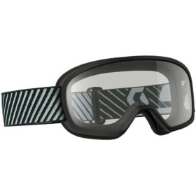 GOGGLE BUZZ MX BLACK CLEAR