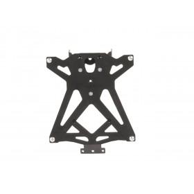 Support de plaque LIGHTECH réglable noir Suzuki GSX-R 250