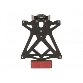 Kit support de plaque réglable LIGHTECH noir Suzuki GSX-R250