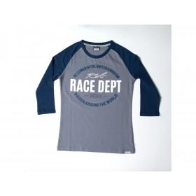 T-shirt RST Original 1988 gris/bleu taille XL femme