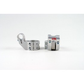 Bracelets LSL Sport Match Ø50mm position standard/5° argent