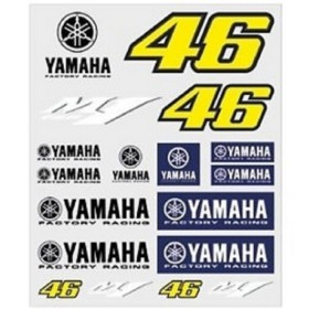 STICKERS BIG YAMAHA RACING VRI46