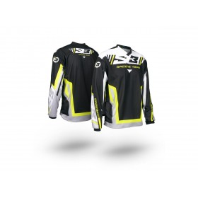 Maillot S3 Racing Team jaune/noir taille S