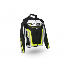Veste S3 Racing Team jaune/noir taille S