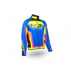 Veste S3 Racing Team rose/bleu taille L