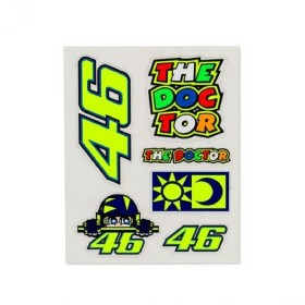 STICKERS SMALL SET MULTICOLOR VRI 46