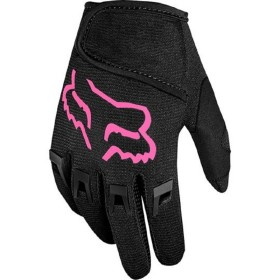 KIDS DIRTPAW GLOVE BLK/PNK KS