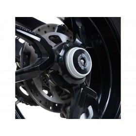 Insert axe de roue arrière R&G RACING argent Ducati X Diavel