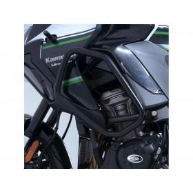 Protection latérales R&G RACING noir Kawasaki Versys 1000