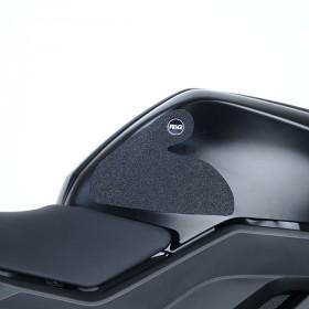 Kit grip de réservoir R&G RACING translucide (2 pièces) Yamaha YZF-R125
