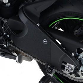 Kit protection de cadre R&G RACING noir (2 pièces) Kawasaki Ninja ZX-6R