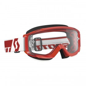GOGGLE SPLIT OTG WHITE/RED CLEAR WORKS
