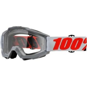 ACCURI GOGGLE 100% SOLBERG//CLEAR LENS