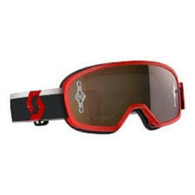 SCO GOGGLE BUZZ MX PRO RED/WHITE GOLD CH