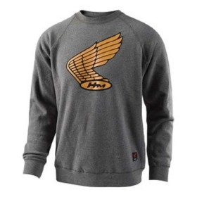 HONDA WING CHARCOAL PULLOVER TLD - SIZE LG