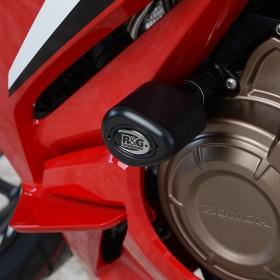 Tampon de protection R&G RACING Aero noir Honda CBR500R