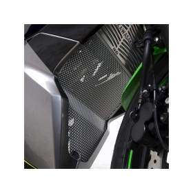 Grille de collecteur R&G RACING noir Kawasaki Z125