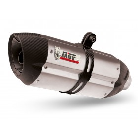 Silencieux MIVV Suono inox/casquette carbone Kawasaki Z 1000 SX