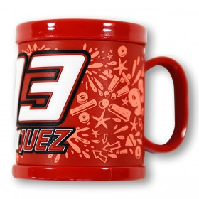 MUG RED MM93 PLASTIC