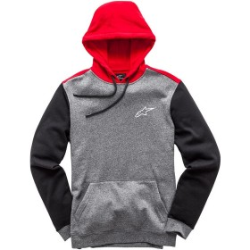 OVERSHOT FLEECE - CHARCOAL HEATHER