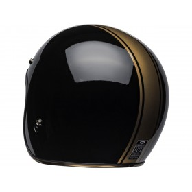 Casque BELL Custom 500 DLX Rally Gloss Black/Bronze taille L