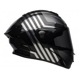 Casque BELL Race Star Flex LT Matte/Gloss Black/Chrome taille M