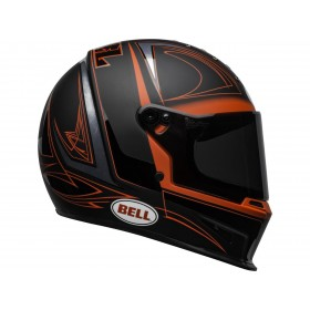 Casque BELL Eliminator Hart Luck Matte/Gloss Black/Red/White taille M