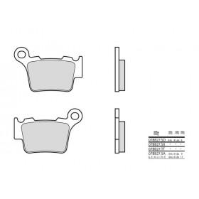 Plaquettes de frein BREMBO 07BB27TT carbone céramique