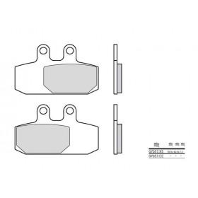 Plaquettes de frein BREMBO 07057XS carbone céramique organique