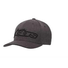 BLAZE FLEXFIT HAT DK HEATHER GRAY/BLACK
