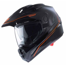 CASQUE EXTREME M BLACK NEON ORANGE
