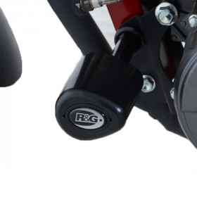 Tampons de protection R&G RACING Aero noir Benelli TNT 125