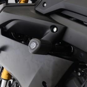 Tampons de protection R&G RACING Aero noir Yamaha YZF-R125