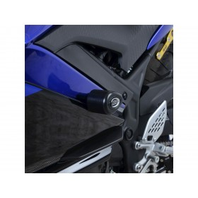 Tampons de protection R&G RACING Aero noir Yamaha YZF-R3