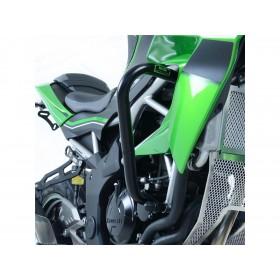 Protections latérales R&G RACING noir Kawasaki Z125