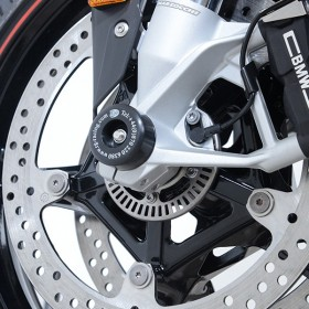 Protections de fourche R&G RACING noir BMW S1000RR