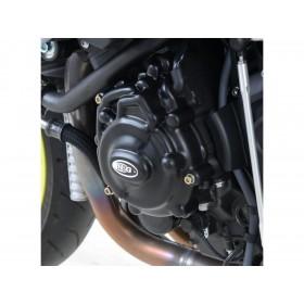 Couvre-carter gauche (alternateur) R&G RACING Race Series noir Yamaha MT-10