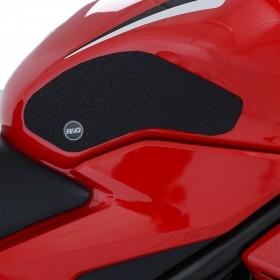 Kit grip de réservoir R&G RACING 2 pièces translucide Honda CBR500R