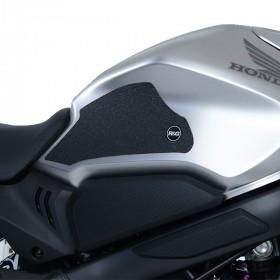 Kit grip de réservoir R&G RACING 2 pièces translucide Honda CB650R