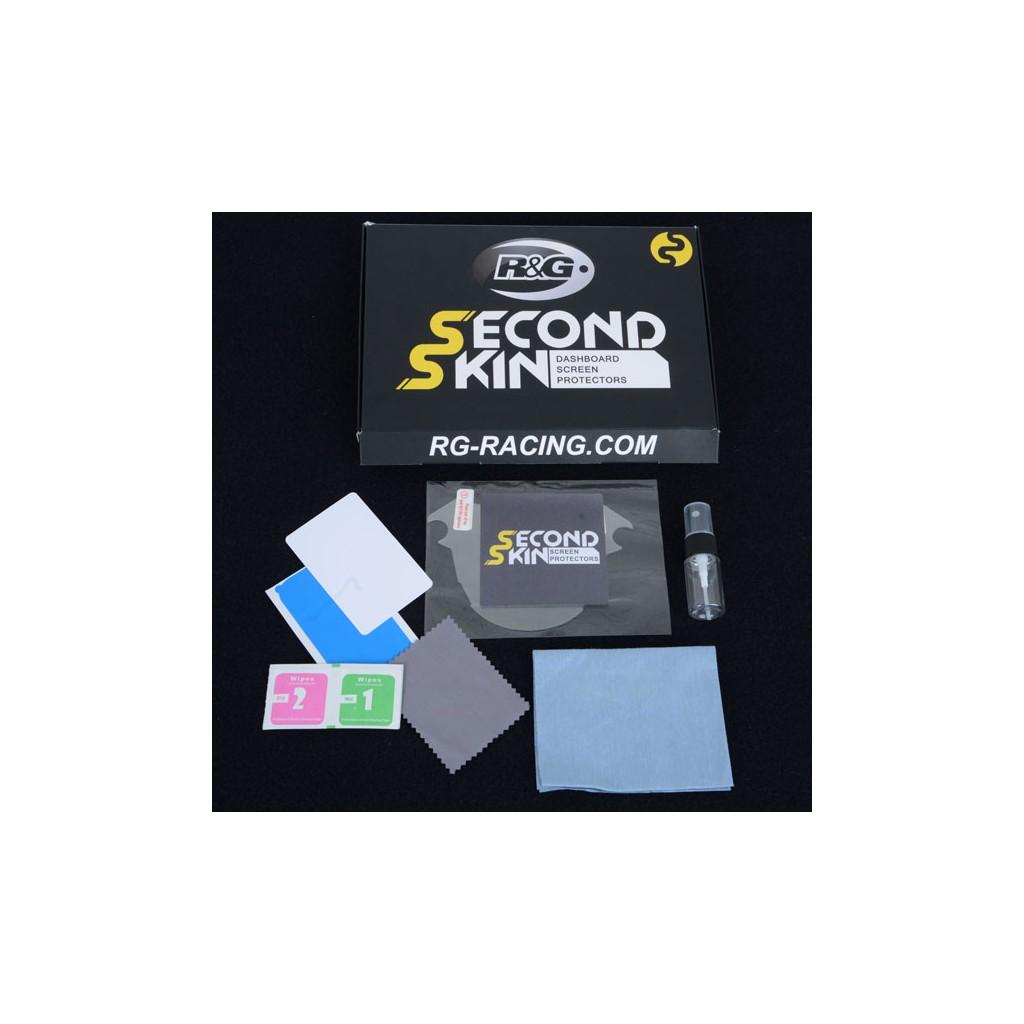 Kit de protection tableau de bord R/&G RACING Second Skin transparent Yamaha MT-10