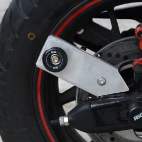 Pions de bras oscillant R&G RACING noir avec platine Benelli TNT 125