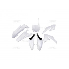 Kit plastiques UFO Yamaha YZ 65 blanc
