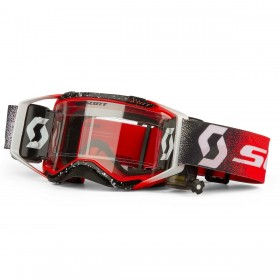 SCO GOGGLE PROSPECT WFS WHITE/RED CLEAR