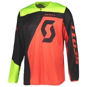 SCO JERSEY 350 DIRT BLACK/RED M
