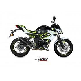 Silencieux MIVV GP Pro Titanium/casquette inox Kawasaki Ninja 125