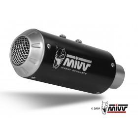 Silencieux MIVV MK3 Steel Black/casquette inox Yamaha R1