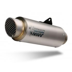 Silencieux MIVV GP Pro Titanium/casquette inox Ducati Monster 821