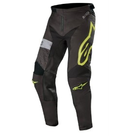 RACER TECH ATOMIC PANTS BLACK YELLOW FLU