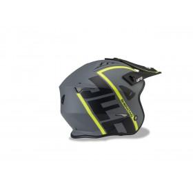 Casque UFO Sheratan Matt Black/Neon Yellow taille L